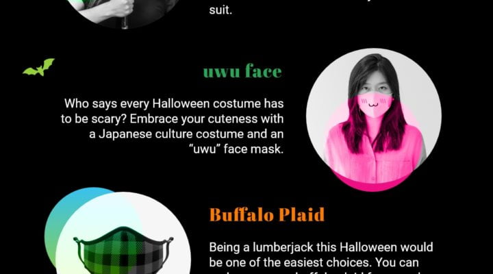 7 Costume + Face Mask Ideas For A Fun And Safe Halloween 2020